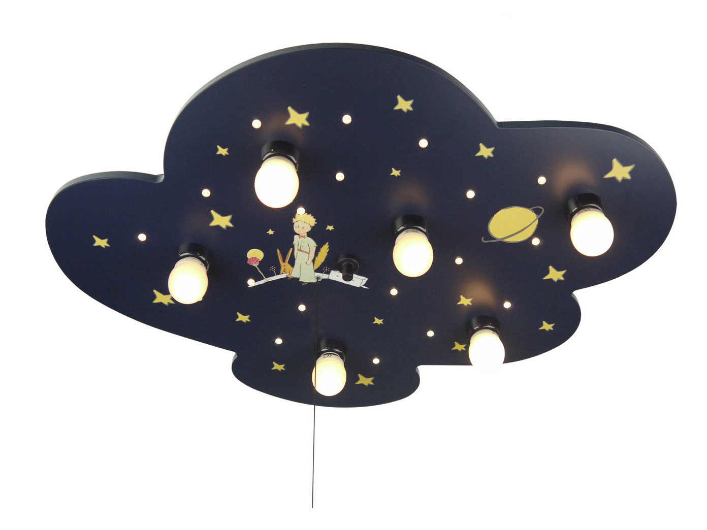 xxl deckenlampe f r kinderzimmer alexa licht an led schlummerlicht wolkenlampe eur 168 99. Black Bedroom Furniture Sets. Home Design Ideas